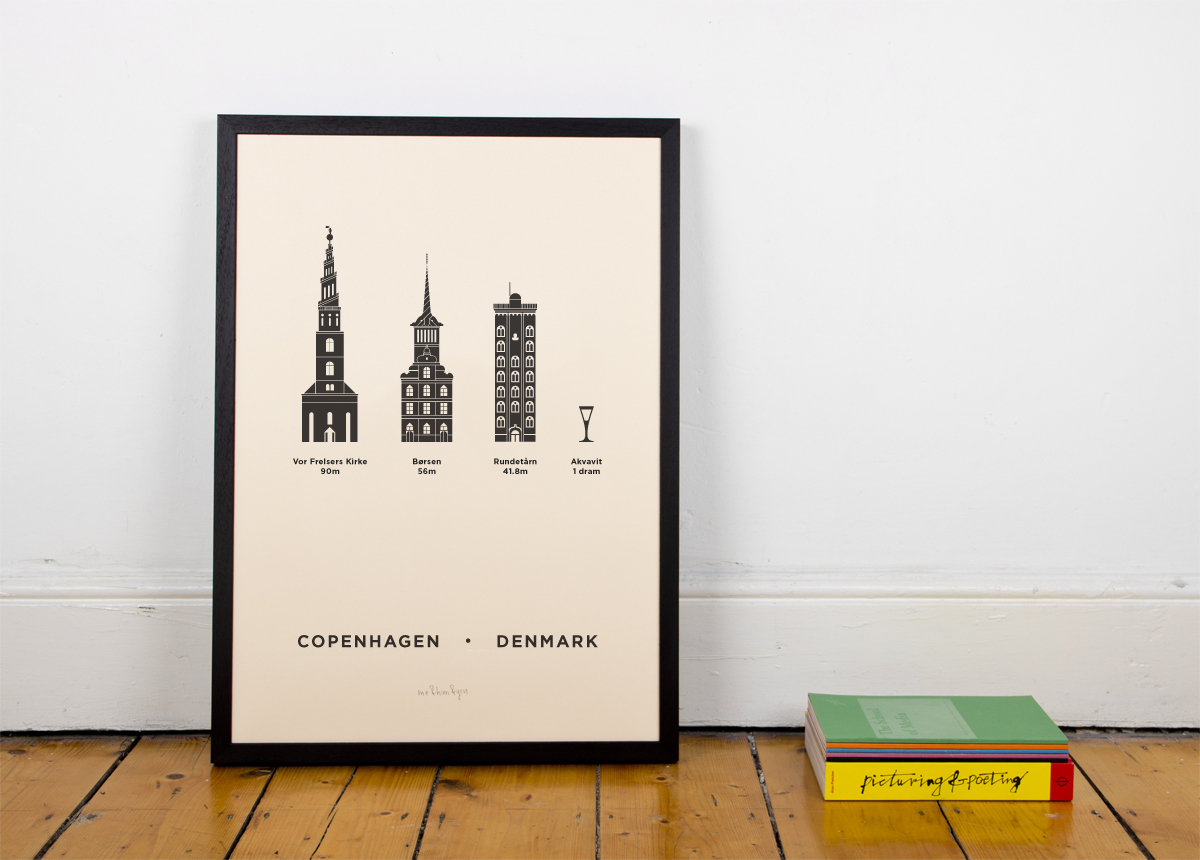 Copenhagen Screenprint