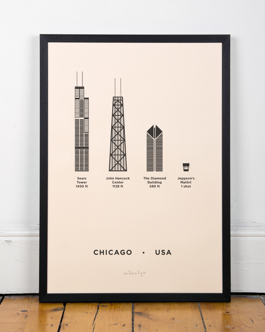 Chicago Print Poster